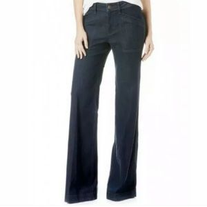 Anthropologie Level 99 Eve Mid Rise Wide Leg Jeans